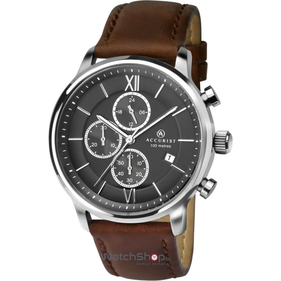 Ceas Accurist CHRONOGRAPH 7154 original barbatesc