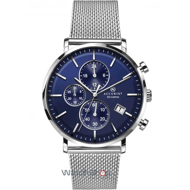 Ceas Accurist CHRONOGRAPH 7188 original barbatesc
