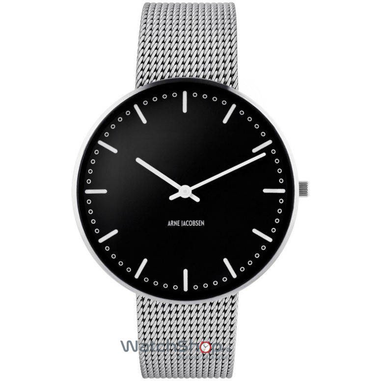 Ceas Arne Jacobsen CITY HALL 53205-2008 Mesh M Barbatesc Original de Lux