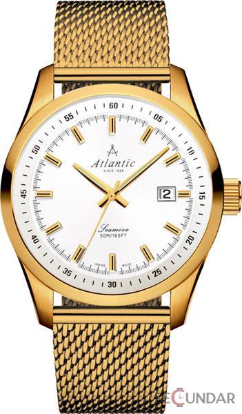 Ceas Atlantic SEABASE 65356.45.21 Barbatesc de Mana Original