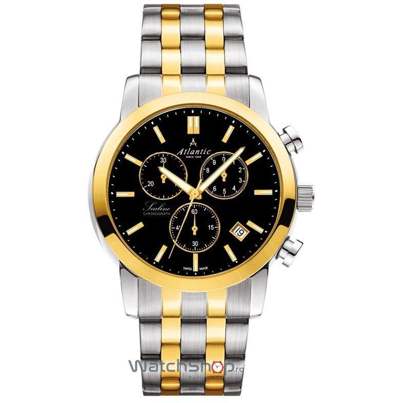 Ceas Atlantic SEALINE 62455.43.61G Cronograf Barbatesc Original de Lux