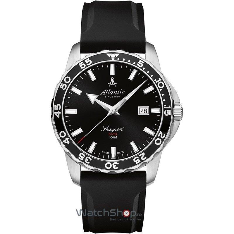 Ceas Atlantic SEASPORT 87362.41.61PU Diver Barbatesc Original de Lux