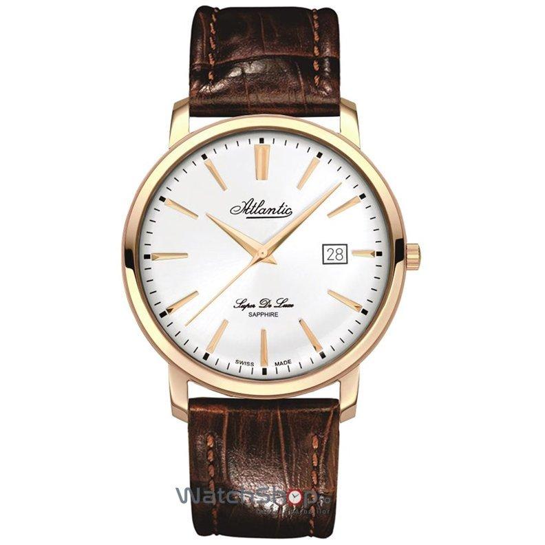 Ceas Atlantic SUPER DE LUXE 64351.44.21 Barbatesc Original de Lux