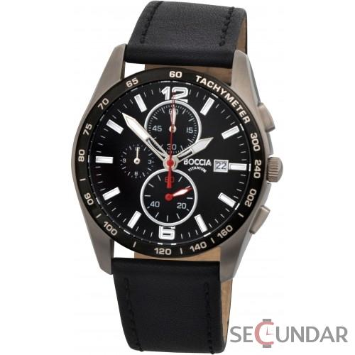 Ceas Boccia SPORT Chronograph 3767-01 Collection Barbatesc de Mana Original