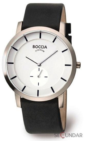 Ceas Boccia TITANIUM 3540-03 Barbatesc de Mana Original
