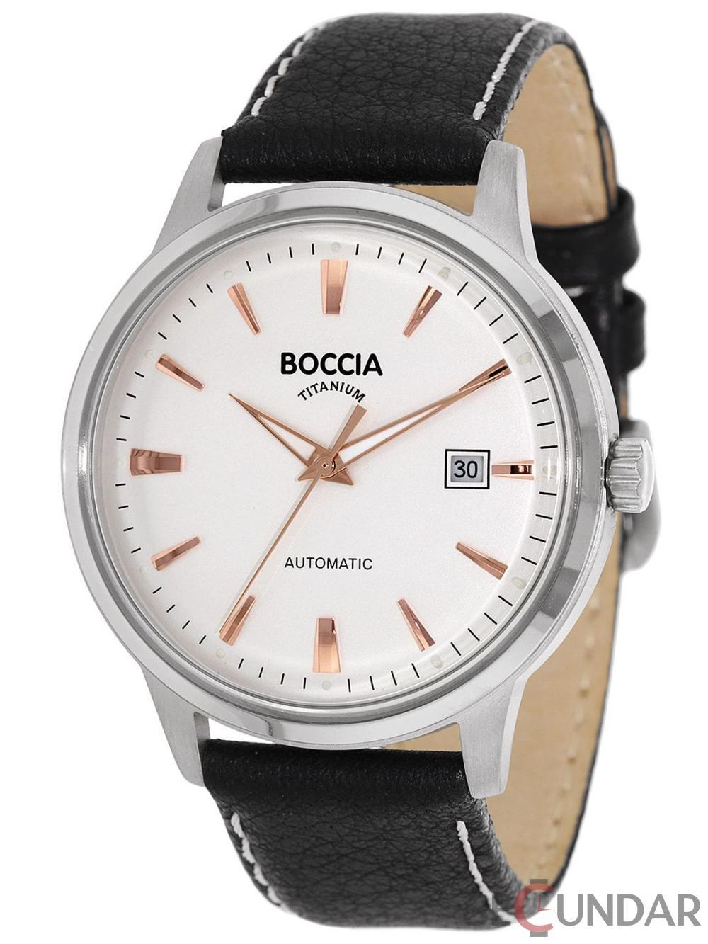 Ceas Boccia TITANIUM 3586-03 Barbatesc de Mana Original