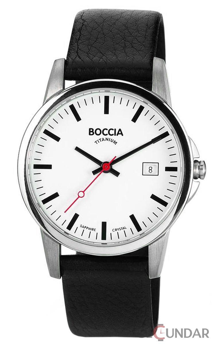 Ceas Boccia TITANIUM 604-18 Barbatesc de Mana Original