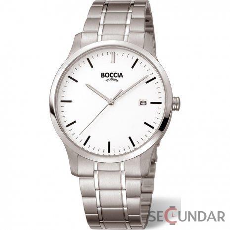 Ceas Boccia Titanium 3595-02 Barbatesc de Mana Original