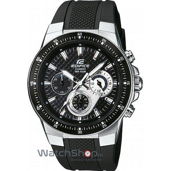 Ceas Casio EDIFICE EF-552-1AVEF Cronograf de Mana Original Pentru Barbati