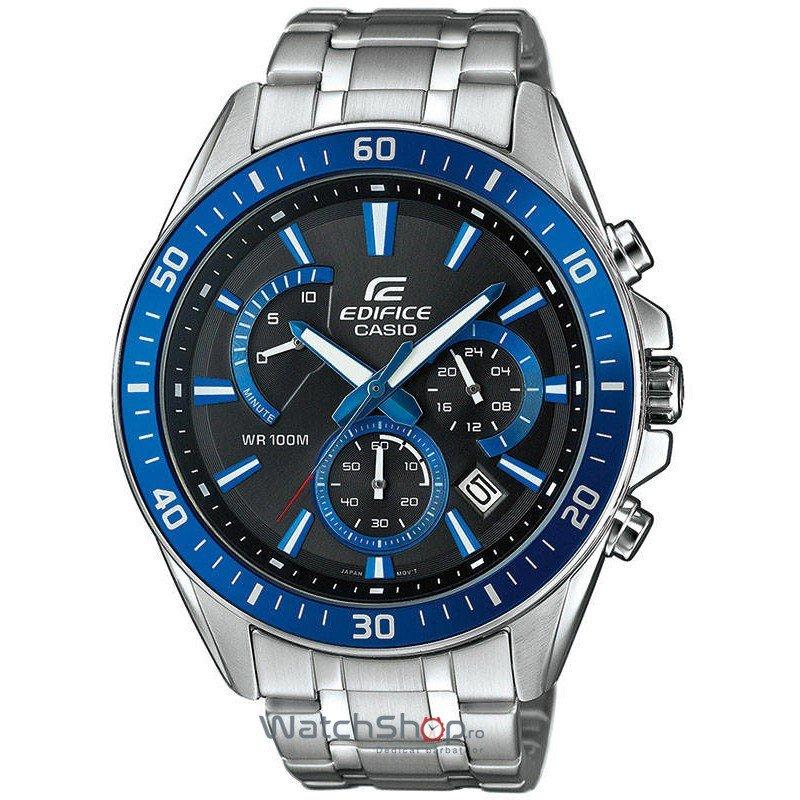 Ceas Casio EDIFICE EFR-552D-1A2 Cronograf de Mana Original Pentru Barbati