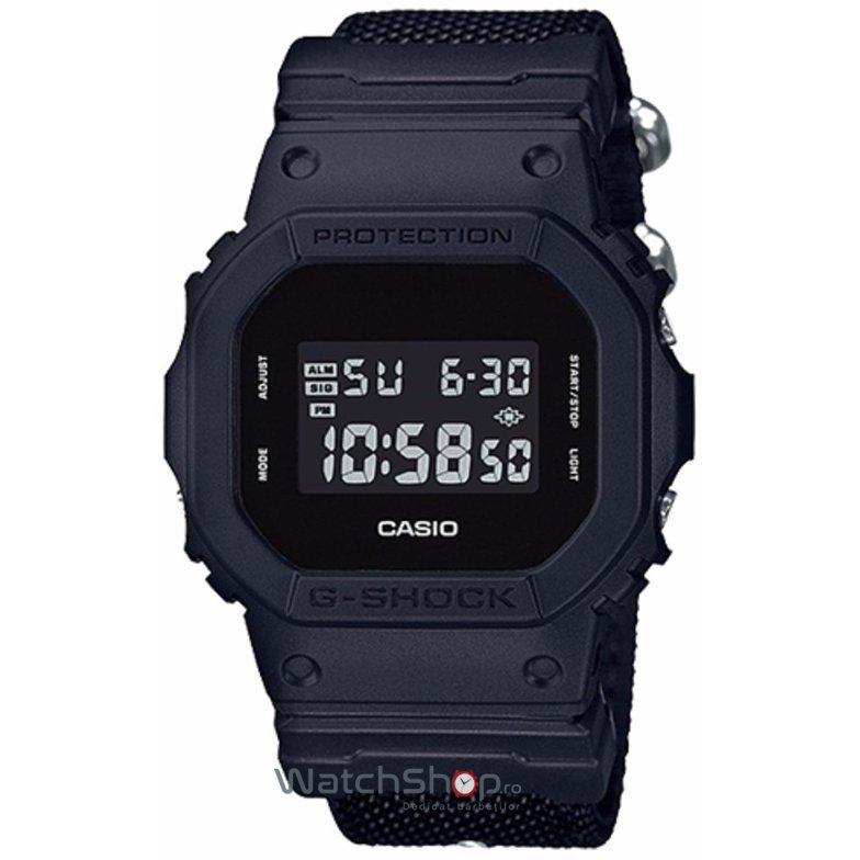 Ceas Casio G-SHOCK DW-5600BBN-1ER de Mana Original Pentru Barbati