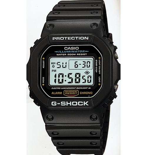Ceas Casio G-SHOCK DW-5600E-1V Barbatesc de Mana Original
