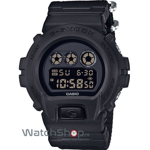 Ceas Casio G-SHOCK DW-6900BBN-1ER de Mana Original Pentru Barbati