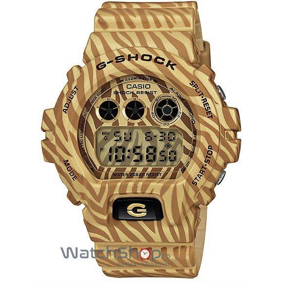 Ceas Casio G-SHOCK DW-6900ZB-9ER Zebra de Mana Original Pentru Barbati