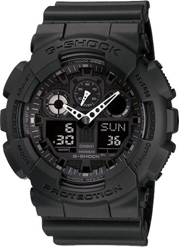 Ceas Casio G-SHOCK GA-100-1A1 Antimagnetic Barbatesc de Mana Original