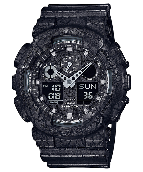 Ceas Casio G-SHOCK GA-100CG-1A Antimagnetic Barbatesc de Mana Original