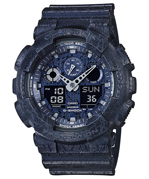 Ceas Casio G-SHOCK GA-100CG-2A Antimagnetic Barbatesc de Mana Original