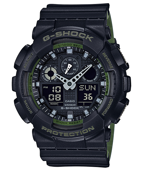 Ceas Casio G-SHOCK GA-100L-1A Antimagnetic Barbatesc de Mana Original
