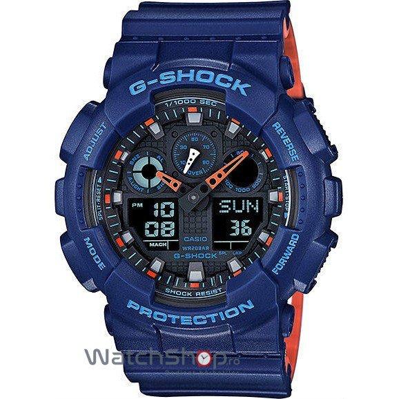 Ceas Casio G-SHOCK GA-100L-2AER de Mana Original Pentru Barbati