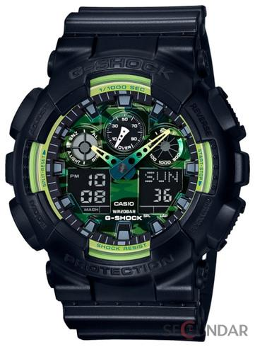 Ceas Casio G-SHOCK GA-100LY-1AER Barbatesc de Mana Original