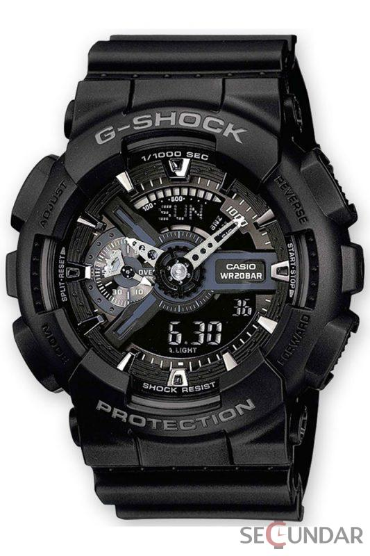 Ceas Casio G-SHOCK GA-110-1B Antimagnetic Barbatesc de Mana Original