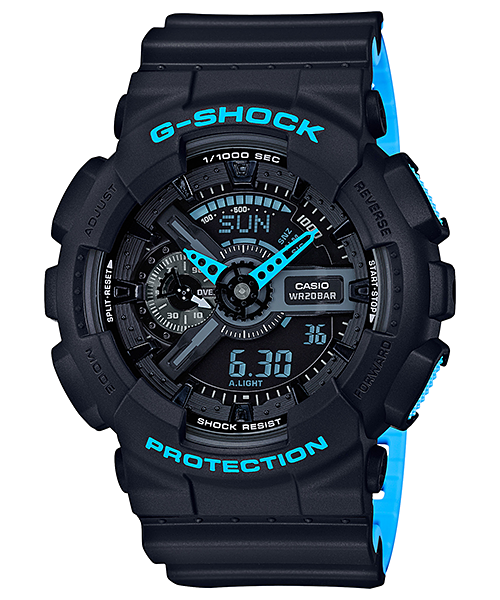 Ceas Casio G-SHOCK GA-110LN-1A Antimagnetic Barbatesc de Mana Original