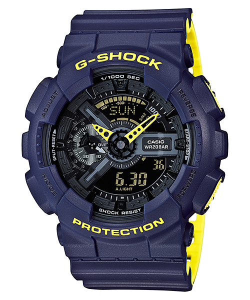 Ceas Casio G-SHOCK GA-110LN-2A Antimagnetic Barbatesc de Mana Original