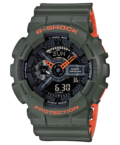 Ceas Casio G-SHOCK GA-110LN-3A Antimagnetic Barbatesc de Mana Original