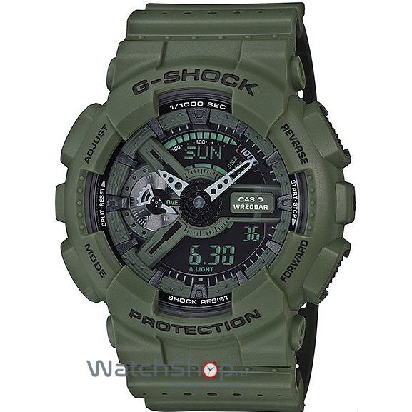 Ceas Casio G-SHOCK GA-110LP-3A Antimagnetic Hyper Colours de Mana Original Pentru Barbati