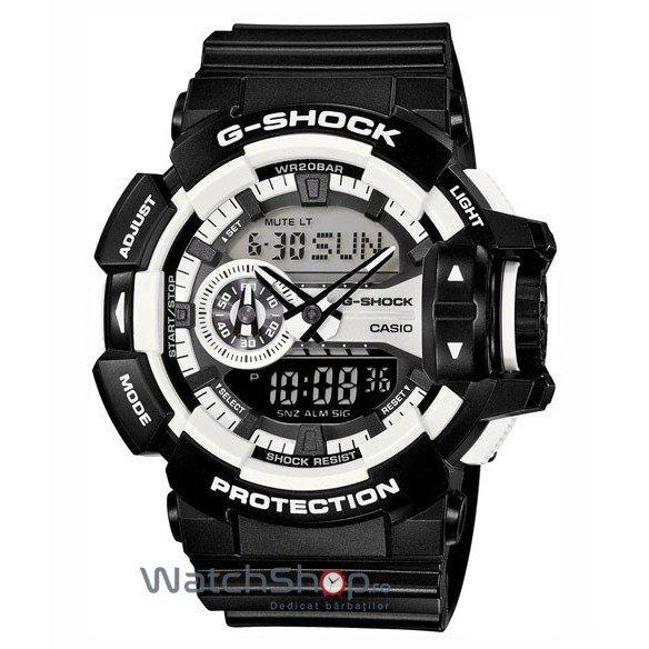 Ceas Casio G-SHOCK GA-400-1AER de Mana Original Pentru Barbati
