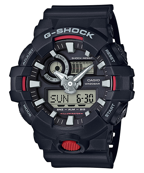 Ceas Casio G-SHOCK GA-700-1A Antimagnetic Barbatesc de Mana Original
