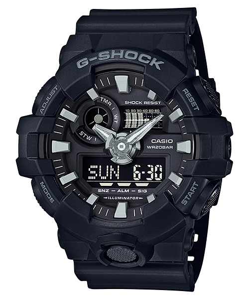 Ceas Casio G-SHOCK GA-700-1B Antimagnetic Barbatesc de Mana Original