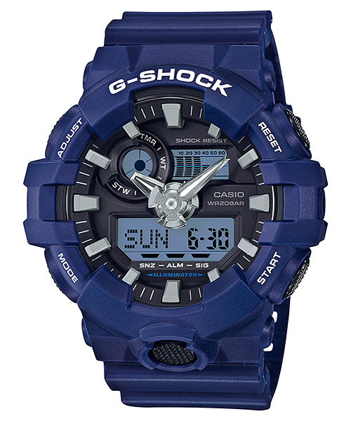 Ceas Casio G-SHOCK GA-700-2A Antimagnetic Barbatesc de Mana Original
