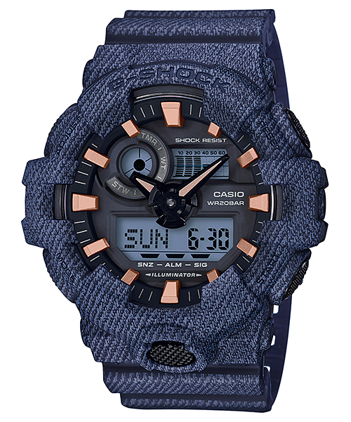 Ceas Casio G-SHOCK GA-700DE-2A Antimagnetic Barbatesc de Mana Original
