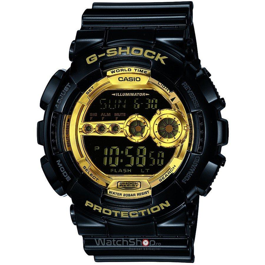 Ceas Casio G-SHOCK GD-100GB-1ER de Mana Original Pentru Barbati