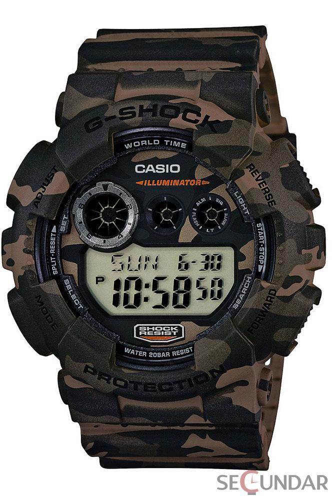 Ceas Casio G-SHOCK GD-120CM-5ER Barbatesc de Mana Original