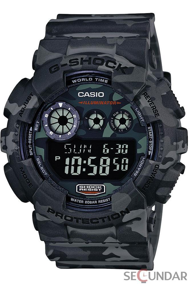 Ceas Casio G-SHOCK GD-120CM-8ER Barbatesc de Mana Original