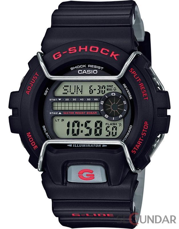 Ceas Casio G-SHOCK GLS-6900-1ER G-Lide Barbatesc de Mana Original