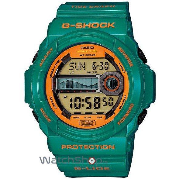 Ceas Casio G-SHOCK GLX-150B-3AER G-Lide de Mana Original Pentru Barbati