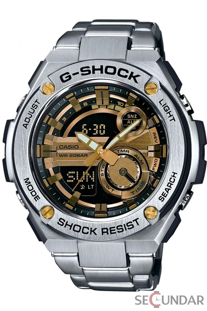 Ceas Casio G-SHOCK GST-210D-9A Barbatesc de Mana Original