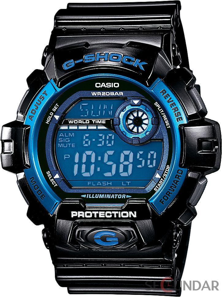 Ceas Casio G-Shock G-8900A-1ER Super Illuminator Barbatesc de Mana Original