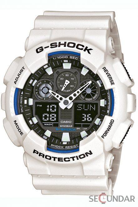 Ceas Casio G-Shock GA-100B-7AER Barbatesc de Mana Original