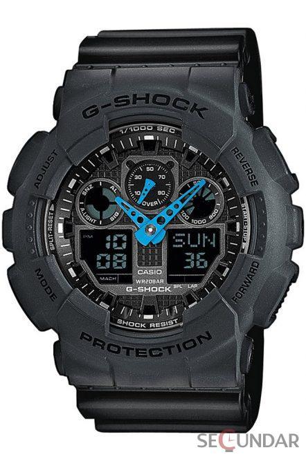 Ceas Casio G-Shock GA-100C-8AER Barbatesc de Mana Original