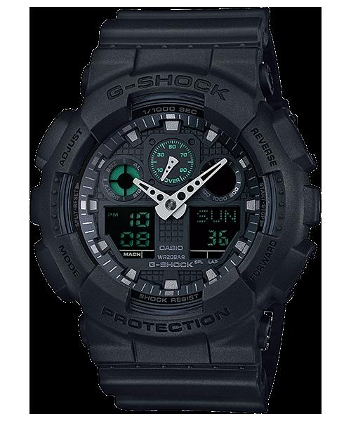 Ceas Casio G-Shock GA-100MB-1A Barbatesc de Mana Original