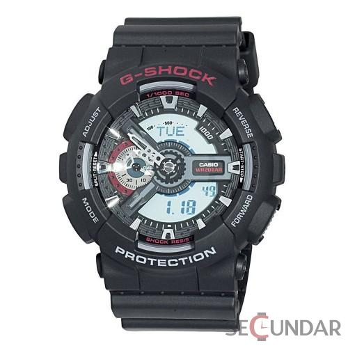 Ceas Casio G-Shock GA-110-1A Antimagnetic Hyper Colors Barbatesc de Mana Original