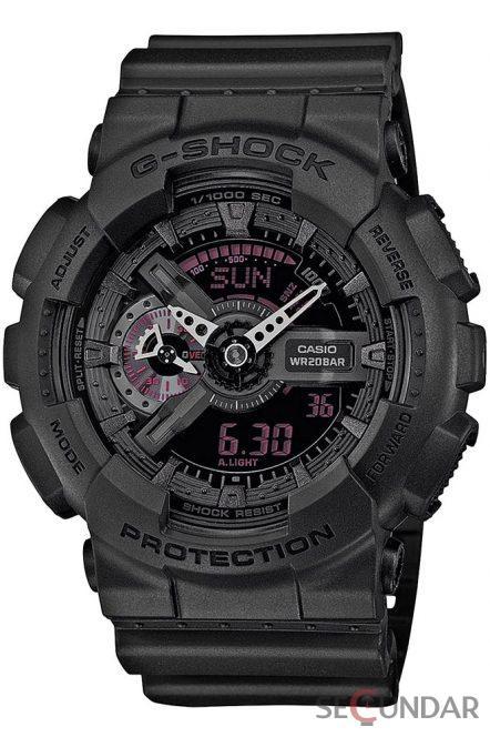 Ceas Casio G-Shock GA-110MB-1AER Barbatesc de Mana Original
