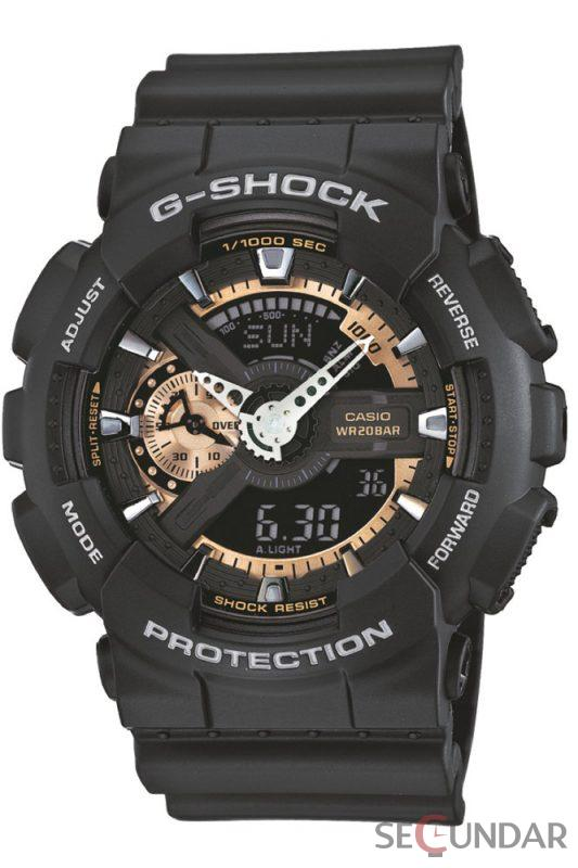 Ceas Casio G-Shock GA-110RG-1A Antimagnetic Hyper Colors Barbatesc de Mana Original