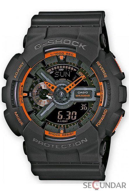 Ceas Casio G-Shock GA-110TS-1A4ER Barbatesc de Mana Original