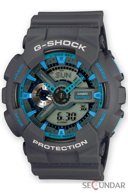 Ceas Casio G-Shock GA-110TS-8A2ER Barbatesc de Mana Original