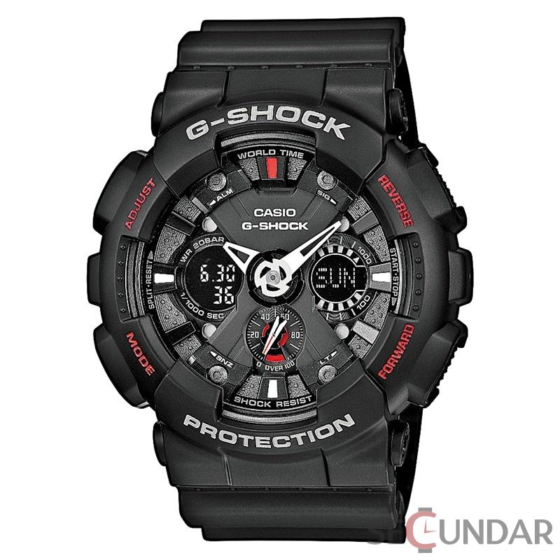 Ceas Casio G-Shock GA-120-1AER Antimagnetic Motorcycle Barbatesc de Mana Original
